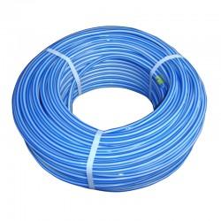 "Manguera 1/2"" Económica Bicolor Ultra Flex Blanco/Azul"