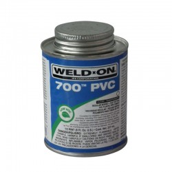 Adhesivo PVC 700 Secado Rápido Viscosidad Regular 237 ml