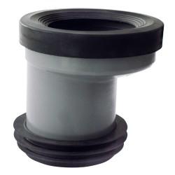 Manguito WC con Junta y Adaptador a 110mm Excentrico