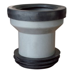 Manguito WC con Junta y Adaptador a 110mm concentrico
