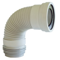Tubo Evacuac Flexible Para WC 38 cms