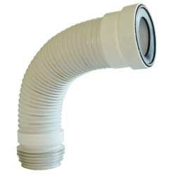 Tubo Evacuac Flexible Para WC 55 cms