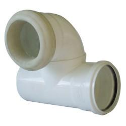 Esquinero Evacuación Vertical Derecho WC 110mm