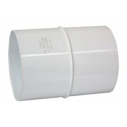 Copla Tubo Canaleta Blanco 75 mm